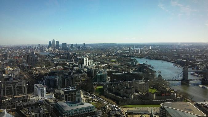 Pogled na četvrt Docklands